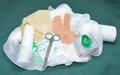 First Aid Kit Contents Royalty Free Stock Photos