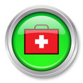 First Aid Kit Icon Royalty Free Stock Photo