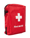 First aid kit isolated on white background Royalty Free Stock Photos