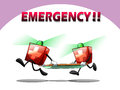 First aid kit rescue emergency light Royalty Free Stock Photos
