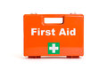 First aid kit a on a white background Stock Photography