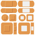 First Aid Plasters Collection Royalty Free Stock Photo