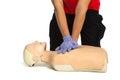 First aid training, resuscitation training