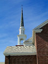 First baptist church boise idaho the has been a landmark building on this site in since but the steeple wasn t added until Stock Photography