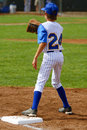 First baseman Royalty Free Stock Images