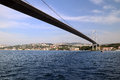 First Bosphorus Bridge in Istanbul Royalty Free Stock Image