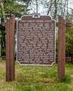 First Forest Patrol Flight - Historical Marker Trout Lake, WI
