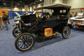 First mass produced car photo of vintage ford model t at the washington dc auto show at the washington dc convention center on Stock Images