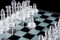 First move with white pawn Royalty Free Stock Photo