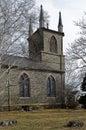 stock image of  First Parish Church in Taunton, Massachusetts