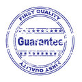 First quality stamp (eps file included) Royalty Free Stock Photo