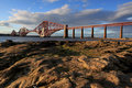 Firth of Forth Bridge Royalty Free Stock Images