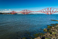 Firth of Forth Bridge in Scotland Stock Photos