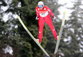 Fis World Cup Nordic Combined Stock Photography