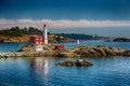 Fisgard Lighthouse Royalty Free Stock Photo