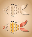 Fish application Royalty Free Stock Images