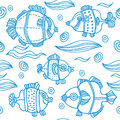 Fish background Stock Images