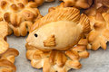Fish of bread Stock Photography