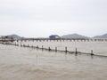 Fish breeding farms Royalty Free Stock Photo