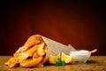 Fish And Chips Menu