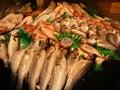 Fish display Royalty Free Stock Photo
