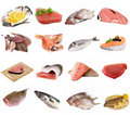 Fish and fish fillets Royalty Free Stock Image