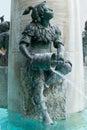 Fish Fountain, Munich, Germany