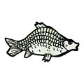 Fish illustration Royalty Free Stock Photography