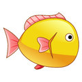 Fish isolated illustration on white background Royalty Free Stock Image