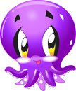 Octopus - Cute sea life cartoon collection under water animal characters