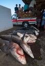Fish market in Yemen