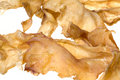 Fish Maw (Gas Bladder) Isolated Royalty Free Stock Photo