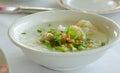 Fish mush in a bowl of Royalty Free Stock Photos