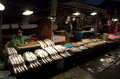 Fish night free market a popular in busan south korea Stock Photography