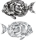 Fish ocean graphic style illustration Stock Image
