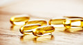 Fish oil omega 3 gel capsules Royalty Free Stock Photo