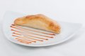 Fish pasty srilankan parsty on a white dish Royalty Free Stock Images