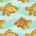 Fish-pattern Royalty Free Stock Photo