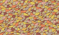 Fish pattern in abstract style Royalty Free Stock Photography