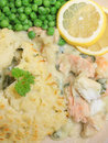 Fish Pie Royalty Free Stock Photo
