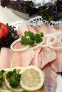 Fish platters Stock Image