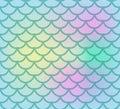 Fish Scales Seamless Pattern. ...