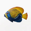 Fish sculpture. Stock Photo