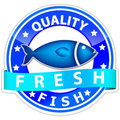 Fish sign Royalty Free Stock Photo