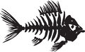 Fish skeleton Royalty Free Stock Photos