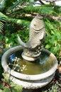Fish Statue Fountain  In USF B...