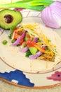 Fish Taco Royalty Free Stock Photo