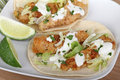 Fish Taco Meal Stock Images