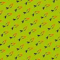 Fish texture abstract green simple diagonal pattern Royalty Free Stock Photo