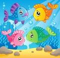 Fish theme image 1 Royalty Free Stock Photo